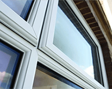 Plain UPVC Windows