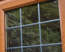 Square Leaded Window Design